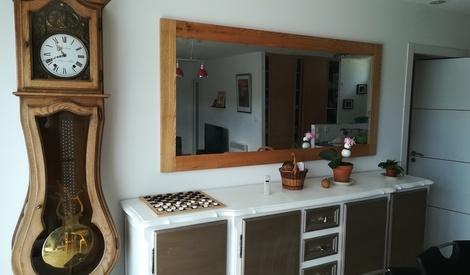 Cadre pour miroir par worldcompany sur l 39 air du bois - Cadre pour miroir ...