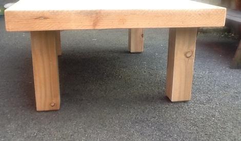 Salon de jardin 1ere partie la table basse par woodandcrafts sur l 39 air d - Que mettre sur une table basse ...