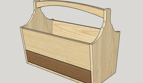 plan caisse outils par thomas sur l 39 air du bois. Black Bedroom Furniture Sets. Home Design Ideas