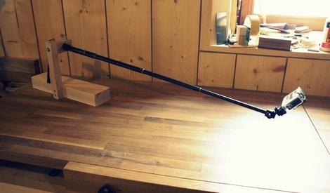 Support pour mini cam ra par zeloko sur l 39 air du bois - Support pour couper du bois ...