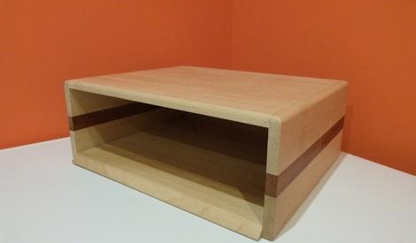 support pc par atelier de varembert sur l 39 air du bois. Black Bedroom Furniture Sets. Home Design Ideas