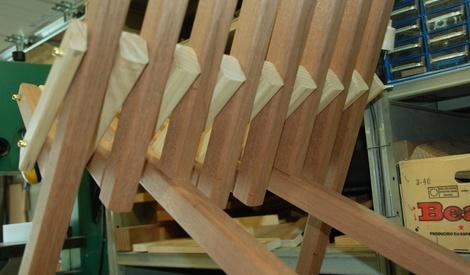 chaise de jardin en bois pliante