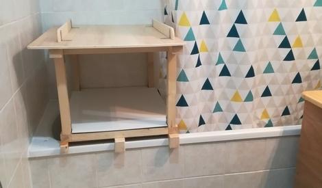 table langer par sushi sur l 39 air du bois. Black Bedroom Furniture Sets. Home Design Ideas