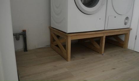 Meuble machine laver et s che linge par mathieudavid sur - Machine a laver et seche linge ...
