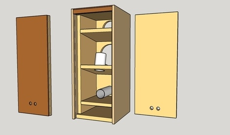 plan enceinte 2voies basse r flex par nico39 sur l 39 air. Black Bedroom Furniture Sets. Home Design Ideas