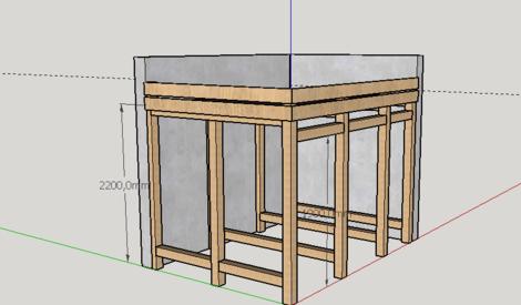 question fabrication abris bois de chauffage par cyrille68 sur l 39 air du bois. Black Bedroom Furniture Sets. Home Design Ideas