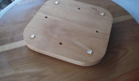 plateau tournant ou lazy suzan par tehare01 sur l 39 air du bois. Black Bedroom Furniture Sets. Home Design Ideas