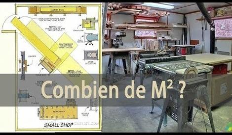 Combien de m2 pour un atelier trouv par j r my lipreau sur l 39 air du bois - Combien de spot par m2 ...