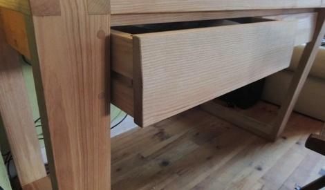 bureau contemporain par pp88 sur l 39 air du bois. Black Bedroom Furniture Sets. Home Design Ideas
