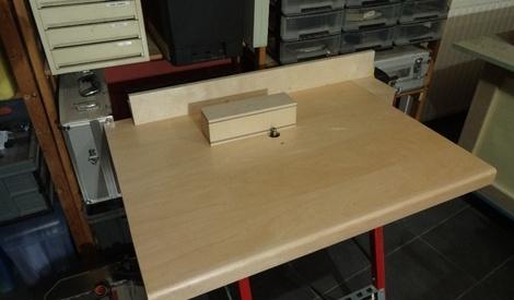 Ma nouvelle d fonceuse sous table par vic66 sur l 39 air du bois - Defonceuse sous table scheppach hf50 ...