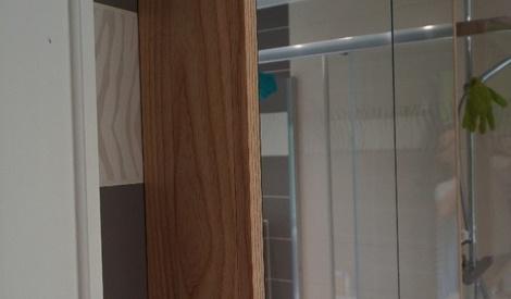 armoire de toilette par shuri sur l 39 air du bois. Black Bedroom Furniture Sets. Home Design Ideas