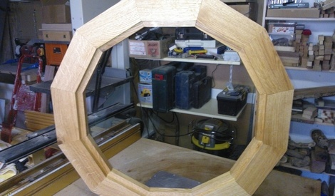ch ssis fixe en dodecagone par fredexposito sur l 39 air du bois. Black Bedroom Furniture Sets. Home Design Ideas