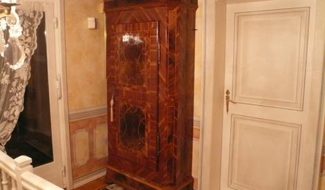 bonneti re cache compteur lectrique par bene569 sur l 39 air du bois. Black Bedroom Furniture Sets. Home Design Ideas
