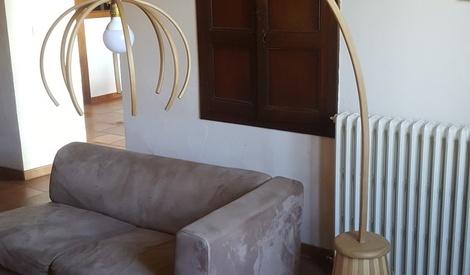 lampe cintrer par jv64 sur l 39 air du bois. Black Bedroom Furniture Sets. Home Design Ideas