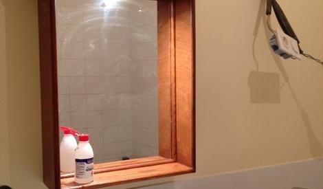 armoire de toilette par lolive sur l 39 air du bois. Black Bedroom Furniture Sets. Home Design Ideas