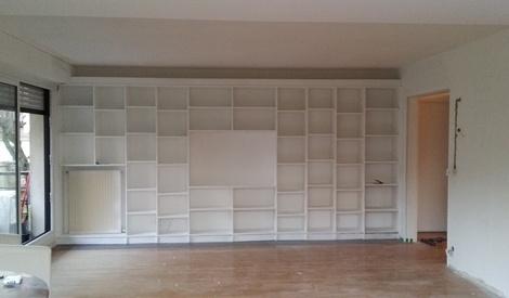 biblioth que par lesnoop sur l 39 air du bois. Black Bedroom Furniture Sets. Home Design Ideas
