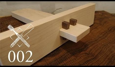 Vid o d 39 assemblage japonais avec des outils main trouv par robnico sur l 39 air du bois - Assemblage bois japonais ...