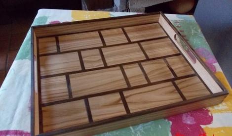 plateau petit d jeuner au lit par siloe sur l 39 air du bois. Black Bedroom Furniture Sets. Home Design Ideas