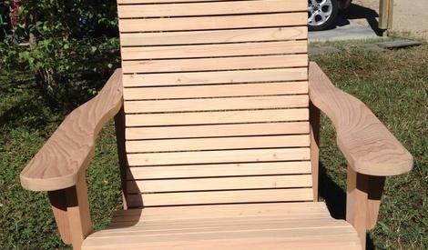 fauteuil pliant de jardin