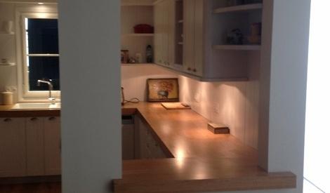 cuisine du sol au plafond par j r my lipreau sur l 39 air du bois. Black Bedroom Furniture Sets. Home Design Ideas