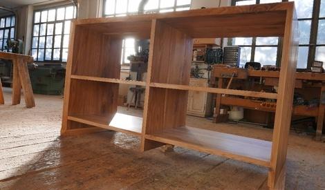 plan de travail avec tag res par thomas sur l 39 air du bois. Black Bedroom Furniture Sets. Home Design Ideas
