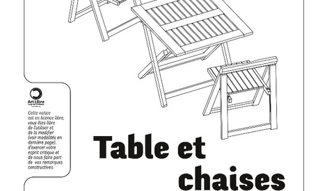 chaises pliantes en bois