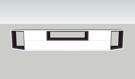 Plan meuble tv chester 2 par schijfke sur l 39 air du bois for Meuble tv bel air 2