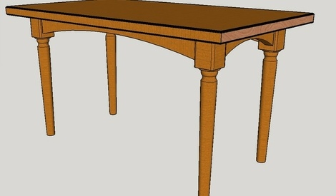 Plan table basse de salon par copolo sur l 39 air du bois - Plan de table basse en bois ...