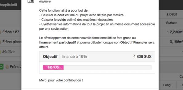OpenCutList 1.9.5 : Objectif Mont Blanc
