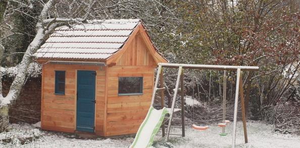 La cabane-maison du pioupiou