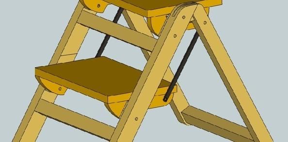 Construction d'un petit tabouret