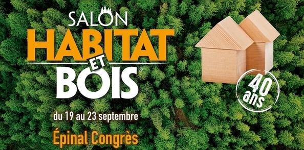 Conférences L'Air du Bois au salon Habitat et Bois d'Epinal du 19 au 23 septembre 2019