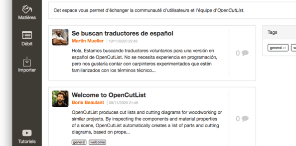 OpenCutList 1.9.9 : Un plugin communautaire :)