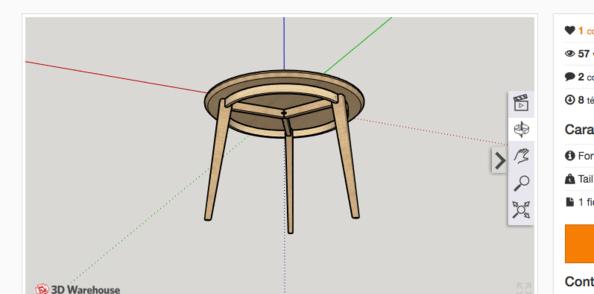 Affichage 3D directement dans les plans ?