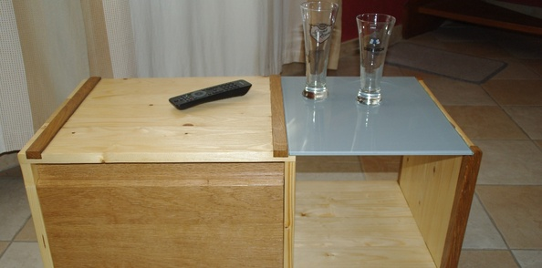 Une table basse simple et pratique