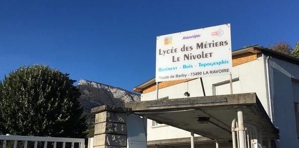 Une journée au Lycée des Métiers - Le Nivolet