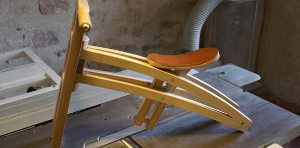 Fabrication d'une draisienne en bois