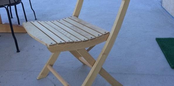 Chaise pour salon de jardin