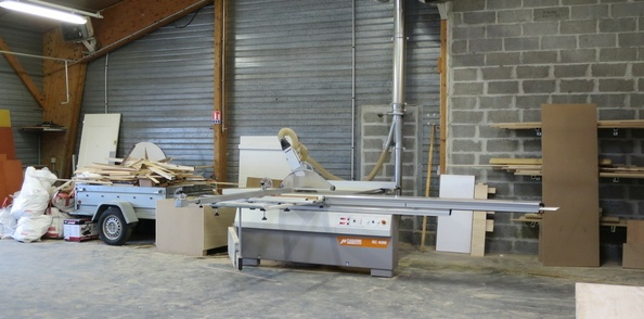 Visite de L'Atelier Normand à Carpiquet (Calvados) (Mai 2019)