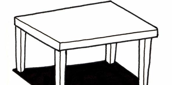 Table Carré 140 Bois Massif
