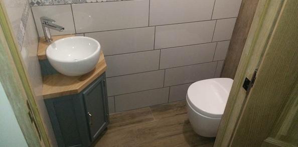 Un lave mains pour le petit coin...