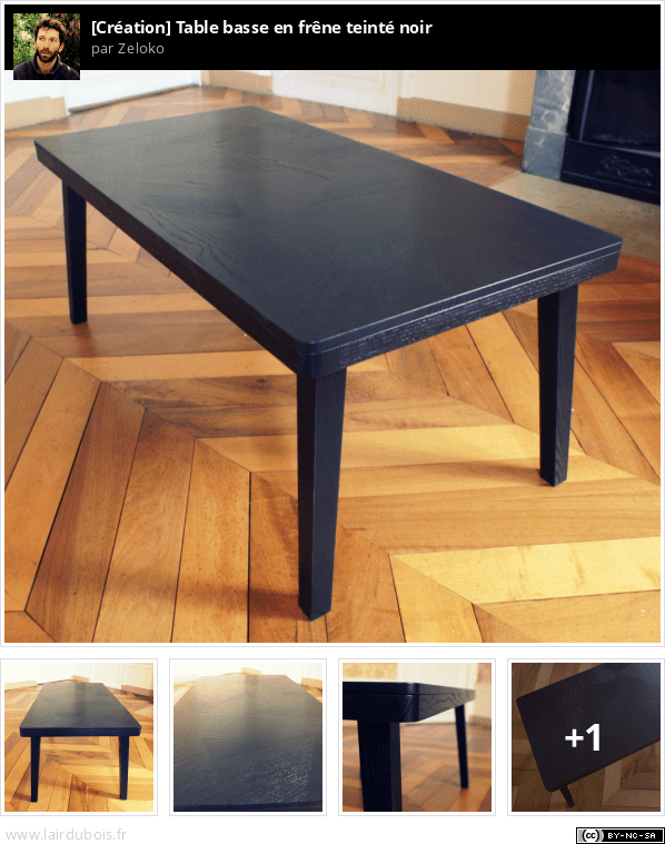 Fabrication d'une table basse en frêne teinté noir - Page 2 Sticker