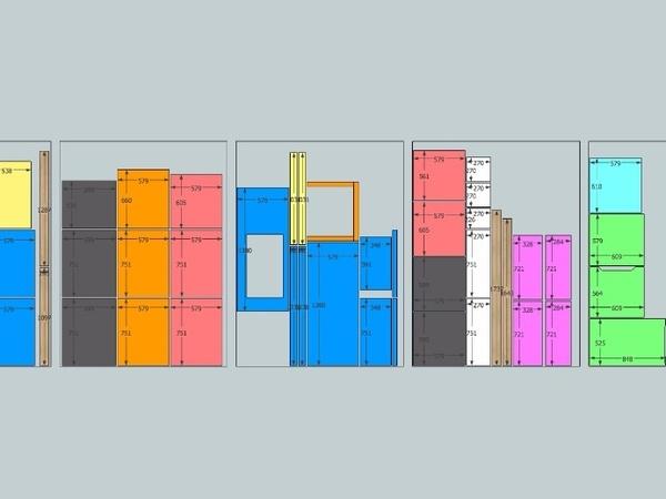 Organisation de les découpe des panneaux de CP