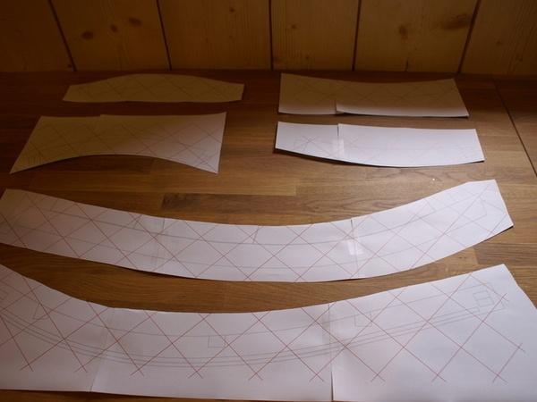 Impression des patrons en papier