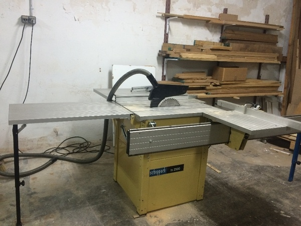 Scie de précision Scheppach TS 2500