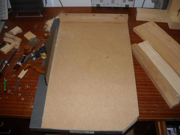 Planche terminée, prête à servir pour mes futurs projets....