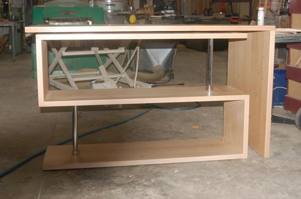 bureau gain de place par mscreations sur l 39 air du bois. Black Bedroom Furniture Sets. Home Design Ideas
