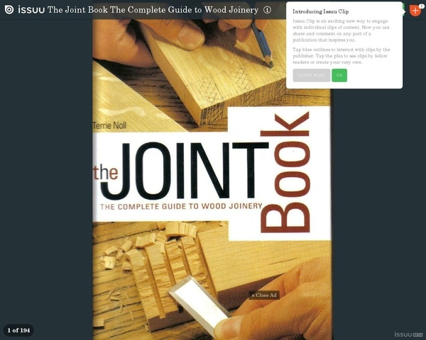 Le livre sur les assemblages bois