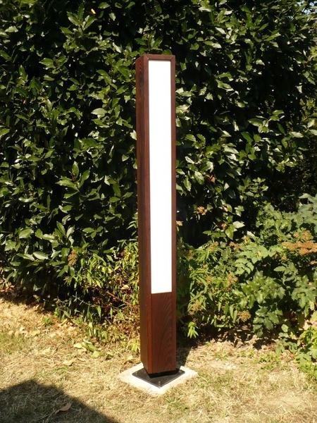 Luminaire d 39 ext rieur par satemorej sur l 39 air du bois for Luminaire terrasse bois