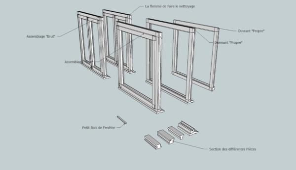 Plan Fenêtre Coffret Zak, 48mm